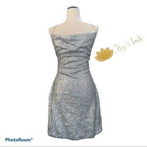 Charlotte Russe Women's evening dress sz L